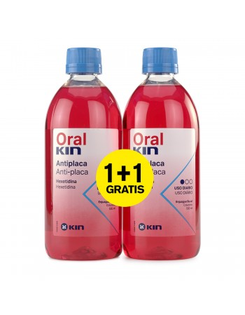 ORALKIN ENJUAGUE 500ml 2x1