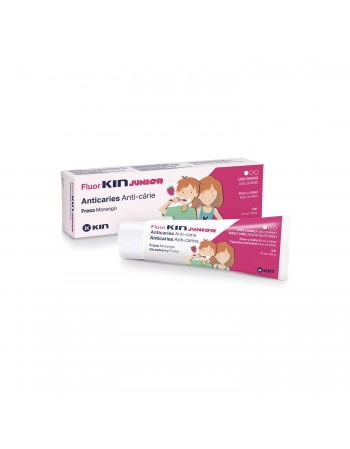 FLUORKIN JUNIOR GEL DENTÍFRICO FRESA 75 ML