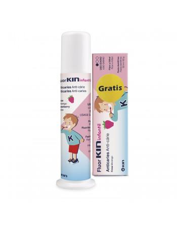 FLUORKIN INFANTIL DOSIFICADOR+PASTA 50 ML GRATIS