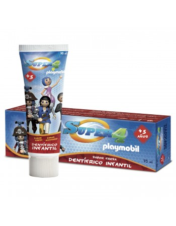 SUPER 4 - PLAYMOBIL GEL DENTAL 75 ml