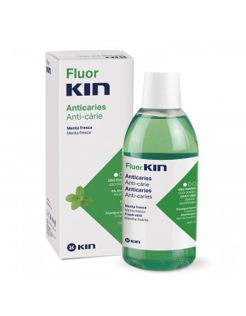FLUORKIN ANTICARIES ENJUAGUE BUCAL 500 ml